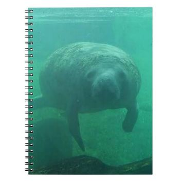 Manatee Spiral Photo Notebook