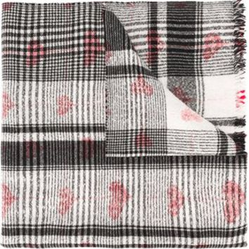 Faliero Sarti Printed Heart Scarf - Changing Room - Farfetch.com