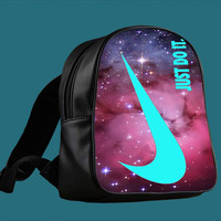 Nike Just Do It Galaxy cover for Backpack / Custom Bag / School Bag / Children Bag / Custom School Bag ***