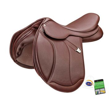 Bates (CAIR) Caprilli Close Contact Plus Saddle with Extended Flap and Luxe Leather
