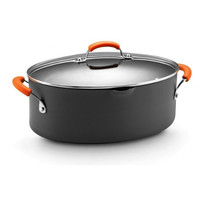 8 Qt. Covered Pasta - Hard Anodized (Orange)
