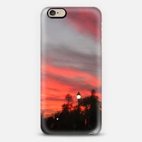 Sunset in the park iPhone 6s case by littlesilversparks | Casetify