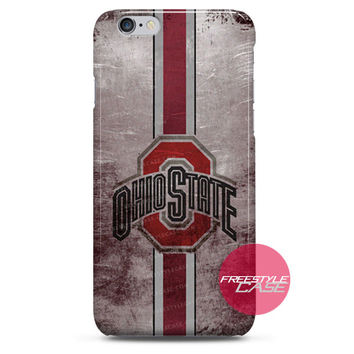 Ohio State Grunge Logo iPhone Case 3, 4, 5, 6 Cover