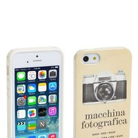 kate spade new york 'italian flashcards' iPhone 5 & 5s case