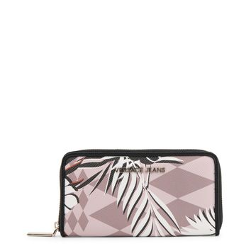 Versace Jeans Pink Synthetic Leather Purse