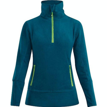 Dakine Womens Fleece Pullover 1/4 Zip Shirt