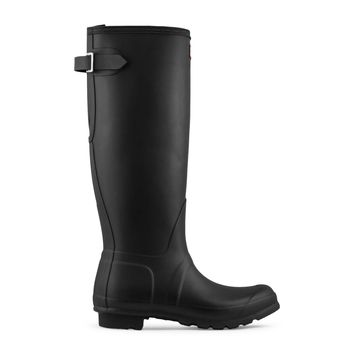Hunter Original Adjustable Back Rain Boot Women's - Black