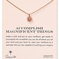 """Dogeared Accomplish Magnificent Things Necklace, 18"""""""