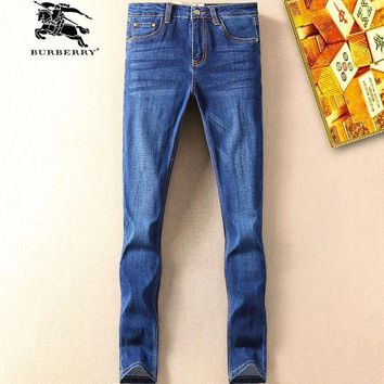 ONETOW Boys & Men Burberry Fashion Casual Pants Trousers Jeans