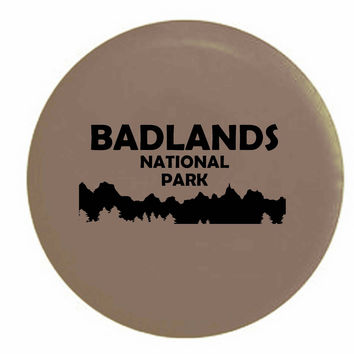 Badlands National Park South DakotaRV Camper Jeep Spare Tire Cover