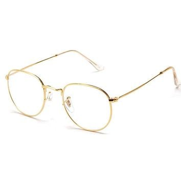 Vintage Glasses With Clear Lens