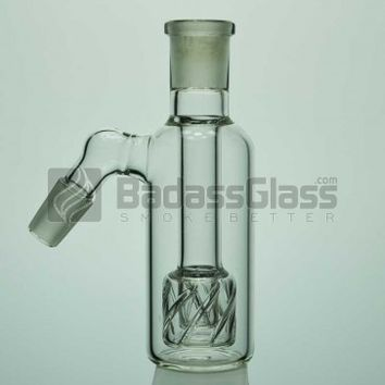 14mm 45 Degree Reti Perc Ash Catcher at BadAssGlass.com
