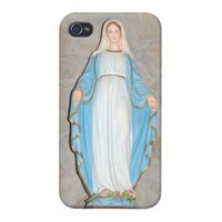 Mary Mother of Jesus on iPhone Case