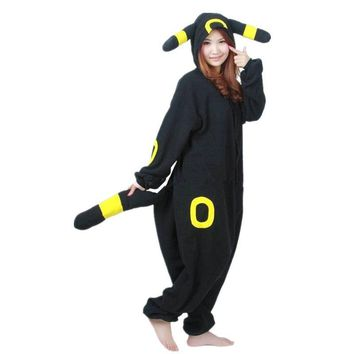 Umbreon Cartoon Anime Cosplay Kigurumi Costume for Adult, Onesuit Pajamas Jumpsuit  Hoodies for Halloween Carnival PartyKawaii Pokemon go  AT_89_9
