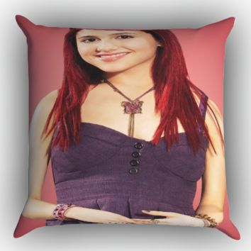 Ariana Grande 2015 X0687 Zippered Pillows  Covers 16x16, 18x18, 20x20 Inches