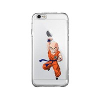 DRAGON BALL Z KRILLIN iPhone and Samsung Galaxy Clear Case