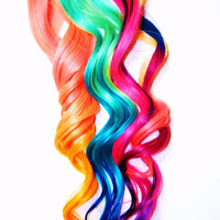 Custom Order YOU CHOOSE Hair Extensions, Ombre Hair Extensions, Human Hair Extension, Clip in Hair