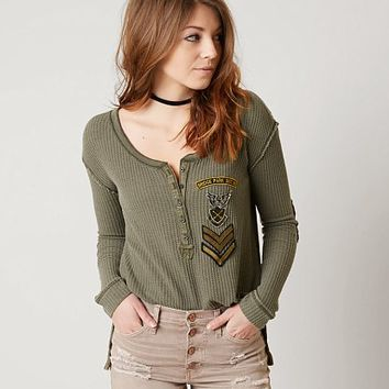 FREE PEOPLE BRIDGET HENLEY TOP