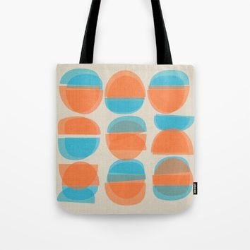 Chinese Bowls Tote Bag by Mirimo