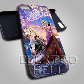 Tangled Disney Galaxy Design - iPhone 4/4s/5 Case - Samsung Galaxy S3/S4 Case - Black or White