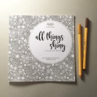"""All Things Shiny"" coloring book"