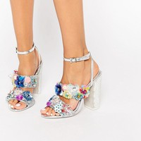 50c039669c938e ASOS METAPHOR Embellished Flat Shoes from ASOS