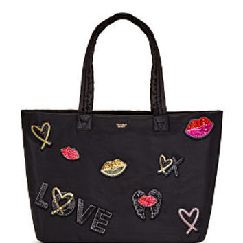 Runway Patch Weekender Tote - Victoria's Secret