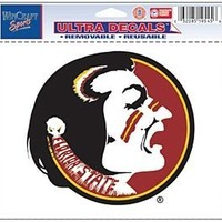 "Florida State Seminoles Removable 5""x6"" Car Decal"