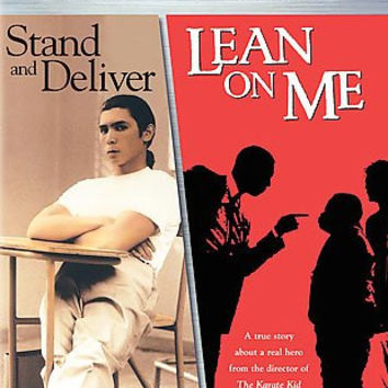 STAND AND DELIVER/LEAN ON ME