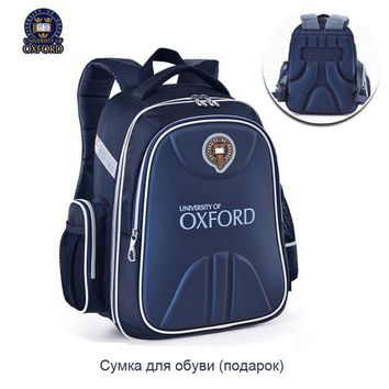 ONETOW UNIVERSITY OF OXFORD children student/books/orthopedic school bag  backpack portfolio rucksack  for  boys girls   for class 1-3