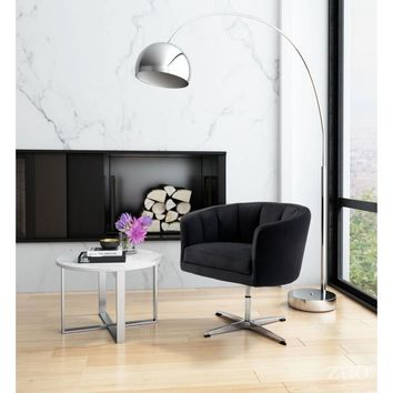 ZUO Modern Wilshire Occasional Chair Vintage Coffee 100767 Living Chairs