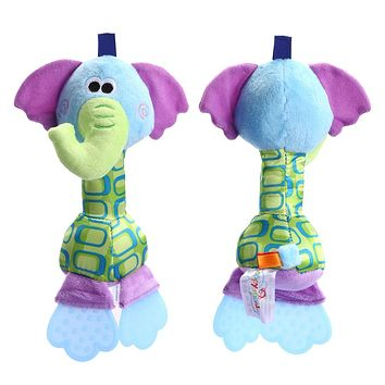 Kids Baby Toys Rattles Soft Toy Dolls Animals Educational Toys for Kids Newborn Children