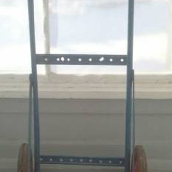CLEARANCE Vintage Industrial 2 Wheel Cart, Dolly, Metal Dolly, Industrial Decor