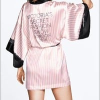 Victoria's Secret fashion show robe wrap