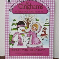 The Ginghams Paper Doll Becky's Winter Carnival by KTsVersion