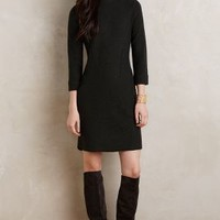 Boiled Wool Mock-Neck Dress by Sparrow