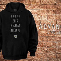 Looking For Alaska by John Green Hoodies Hoodie Sweatshirt Sweater Shirt black and white Unisex by advancehoodie