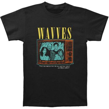 Wavves Men's  Barkley T-shirt Black