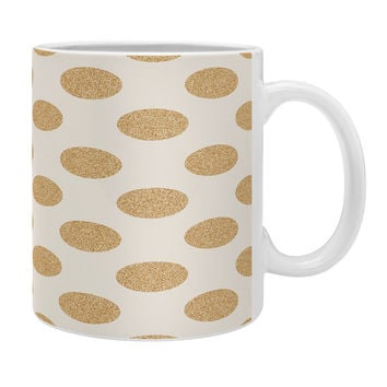 Allyson Johnson Gold Dots Coffee Mug