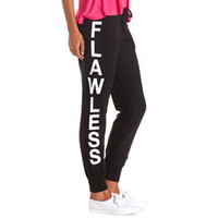 FLAWLESS GRAPHIC SKINNY SWEATPANTS