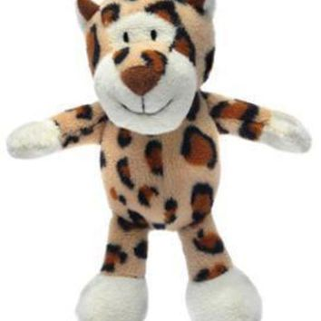 LMFYN5 Knight Pet Runtzees Safari Plush Cheetah Small Lucy Dog Toy