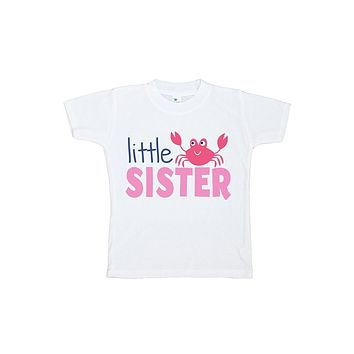 Custom Party Shop Baby's Little Sister Summer T-shirt