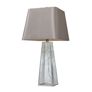 Dimond HGTV146 HGTV HOME Clear Seeded Glass Table Lamp