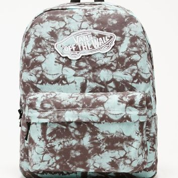 Vans Realm Blue School Backpack - Womens Backpack - Blue - One 167a1d6973467