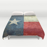 """The State flag of Texas - The """"Lone Star Flag"""" of the """"Lone Star State"""" Duvet Cover by LonestarDesigns2020 - Flags Designs +"""