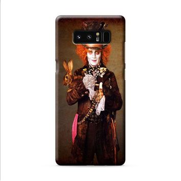Alice In Wonderland Johnny Depp Samsung Galaxy Note 8 case