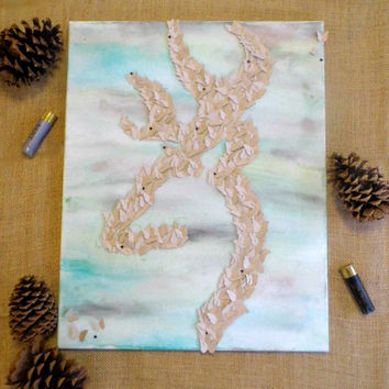 Browning Symbol  3D Butterfly Wall Art  Deer  Home Decor  Hunting   Camouflage. Best Camo Room Products on Wanelo