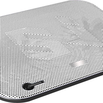 Dual Fan Cooling Pad Vented Lap Desk For Laptops White. Ideal Stand For Gaming And Heavy Processing for Macbook Samsung Ultrabook Toshiba Lenovo Acer Asus Dell Hp Sony '