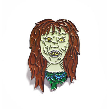 Regan Lapel Pin (Glow-in-the-Dark)