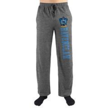 Harry Potter Hogwarts Ravenclaw House Print Mens Loungewear Lounge Pants